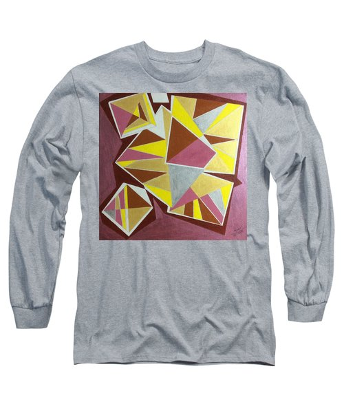 Long Sleeve T-Shirt featuring the painting Summer by Hang Ho