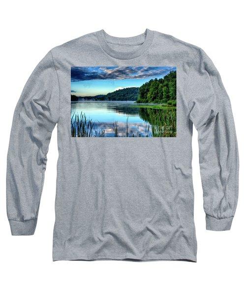 Summer Morning On The Lake Long Sleeve T-Shirt