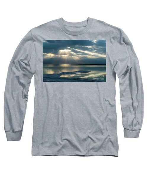 Sunrise At The Dead Sea Long Sleeve T-Shirt