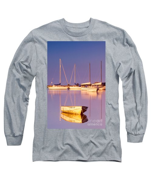 Sunrise At West Bay Osterville Cape Cod Long Sleeve T-Shirt