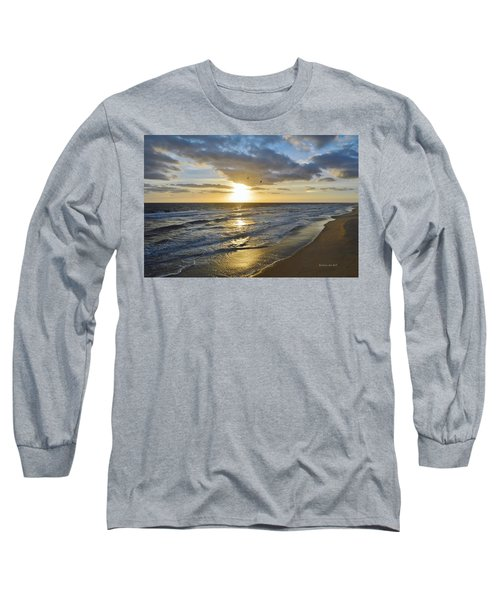 Sunrise On The Banks  Long Sleeve T-Shirt