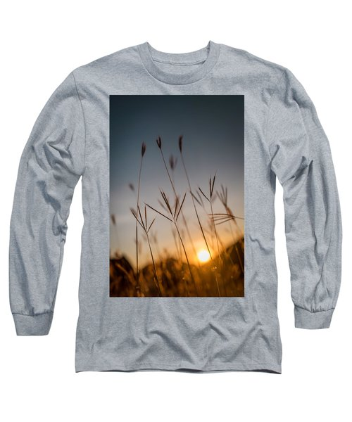 Sunset Grass Long Sleeve T-Shirt