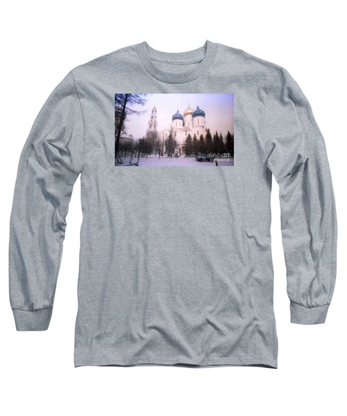 Suzdal  Russia Church Long Sleeve T-Shirt by Ted Pollard