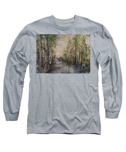 Bayou Liberty Long Sleeve T-Shirt by Robin Miller-Bookhout