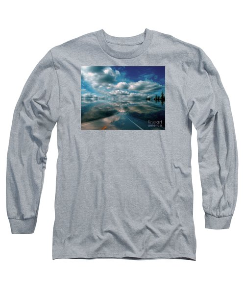 Long Sleeve T-Shirt featuring the photograph The Dream by Elfriede Fulda