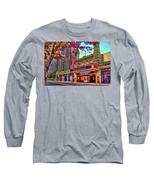 The Fabulous Fox Theatre Atlanta Georgia Art Long Sleeve T-Shirt by Reid Callaway