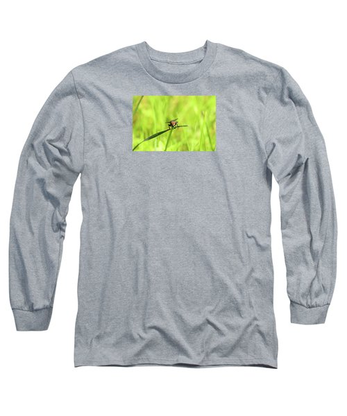 The Fly Long Sleeve T-Shirt by David Stasiak