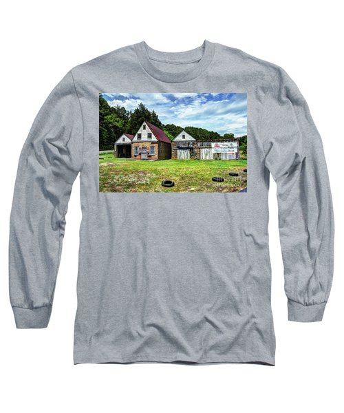 The Old Gas Station Long Sleeve T-Shirt
