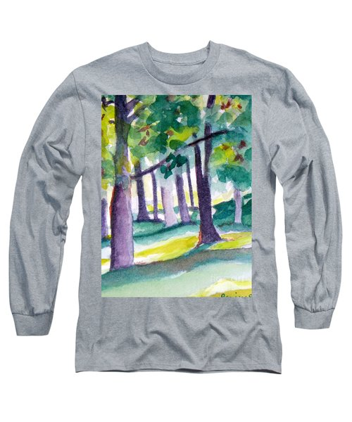 The Perfect Day Long Sleeve T-Shirt by Jan Bennicoff