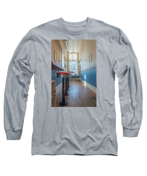 The Pie Shop Long Sleeve T-Shirt by Dan Traun