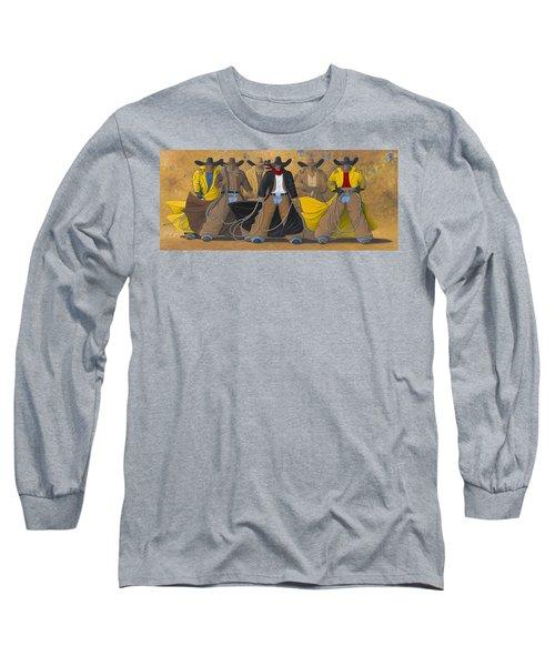 The Posse Long Sleeve T-Shirt by Lance Headlee