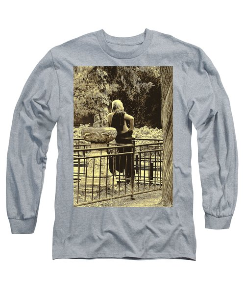 The Thinker Long Sleeve T-Shirt by Patrick Kain