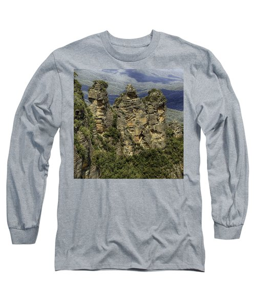 Long Sleeve T-Shirt featuring the photograph The Three Sisters by Chris Cousins