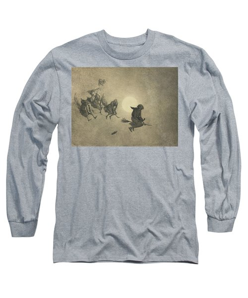 The Witches' Ride Long Sleeve T-Shirt