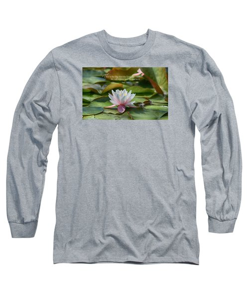 This Is The Day Long Sleeve T-Shirt by Lynn Hopwood