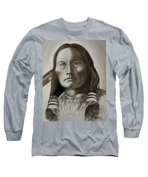 Three Fingers Long Sleeve T-Shirt