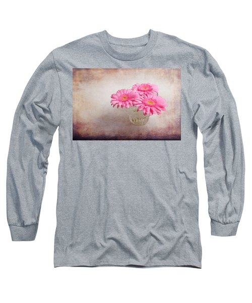 Three Of Us Long Sleeve T-Shirt by Randi Grace Nilsberg