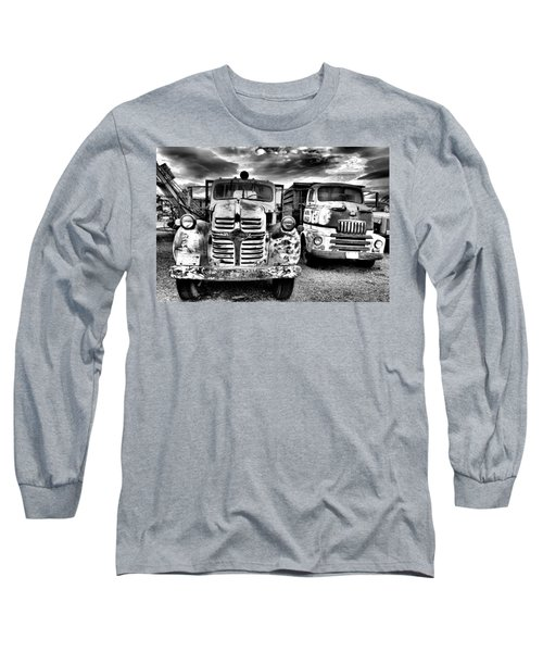 Long Sleeve T-Shirt featuring the photograph Two Old Beauties by Jeff Swan