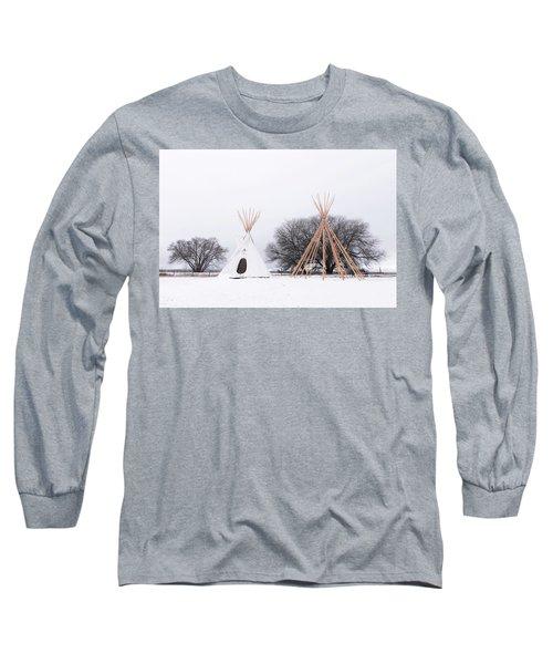 Two Tipis Long Sleeve T-Shirt