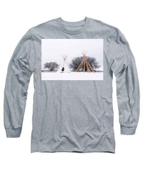Two Tipis Long Sleeve T-Shirt