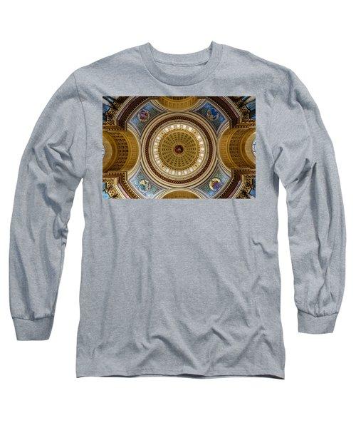 Under The Dome Long Sleeve T-Shirt by Randy Scherkenbach