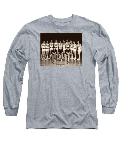 University Of Michigan Basketball Team 1960-61 Long Sleeve T-Shirt