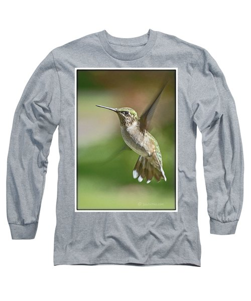 Untitled Hum_bird_five Long Sleeve T-Shirt
