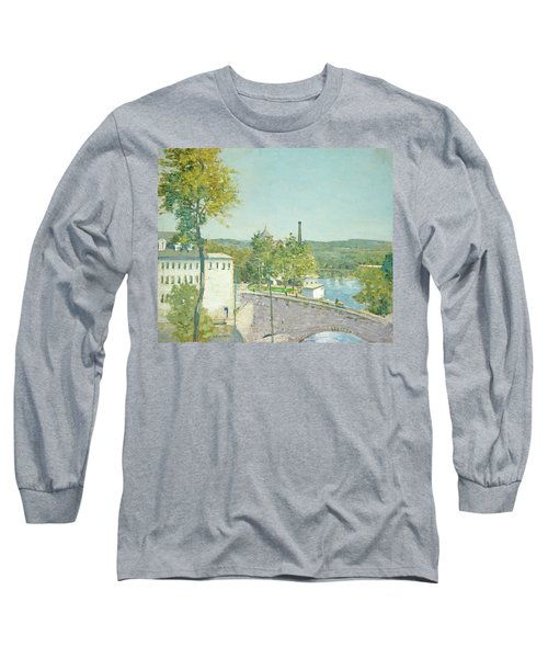 U.s. Thread Company Mills, Willimantic, Connecticut Long Sleeve T-Shirt