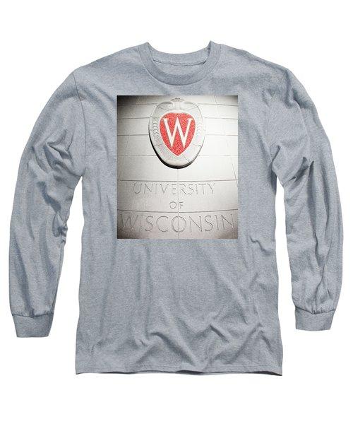 Uw Crest Long Sleeve T-Shirt