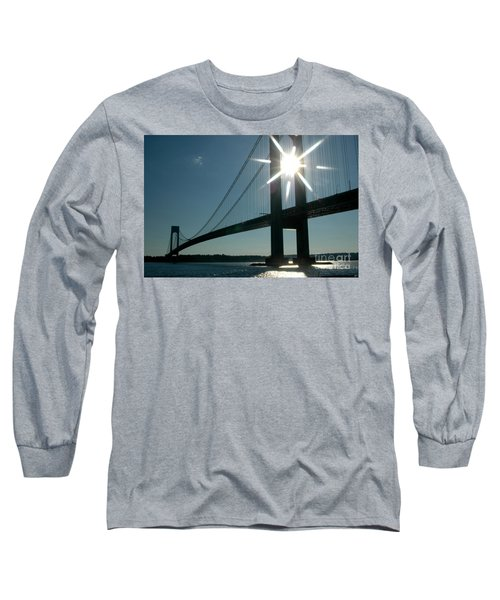 Verrazano Bridge Starburst Long Sleeve T-Shirt