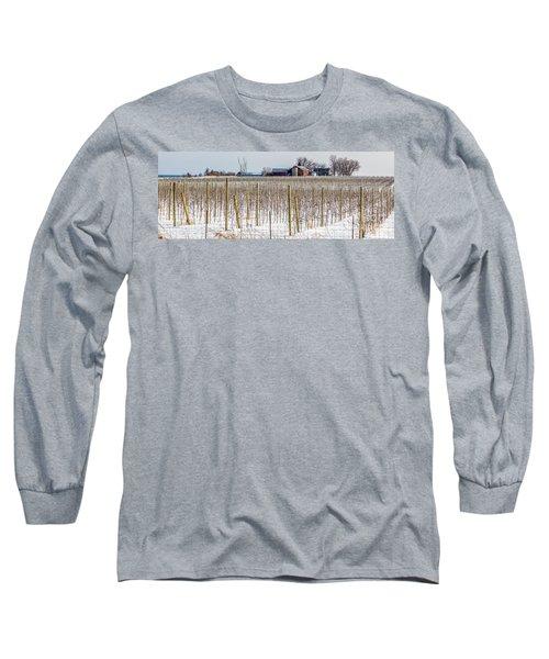 Vinyard On Down Road  Long Sleeve T-Shirt