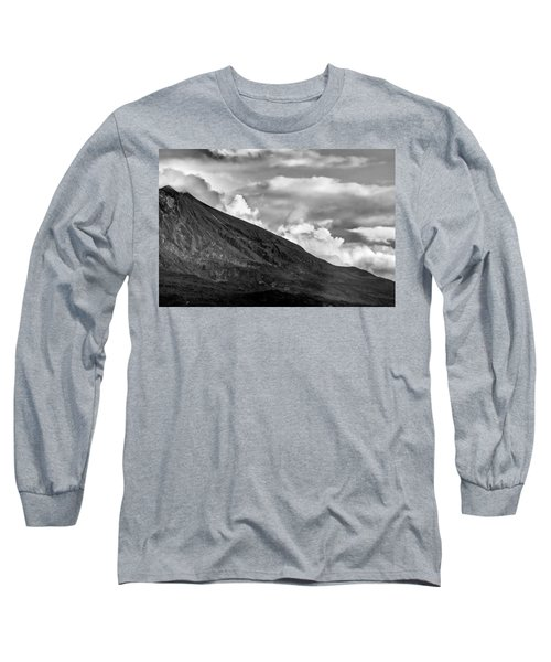 Volcano Long Sleeve T-Shirt by Hayato Matsumoto