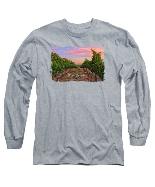 Walla Walla Wine Country Long Sleeve T-Shirt