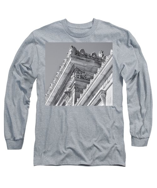Washington Dc Architecture Long Sleeve T-Shirt by Debbie Karnes