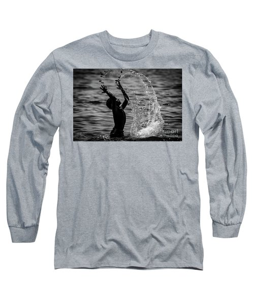 Water And Stones 3 Long Sleeve T-Shirt