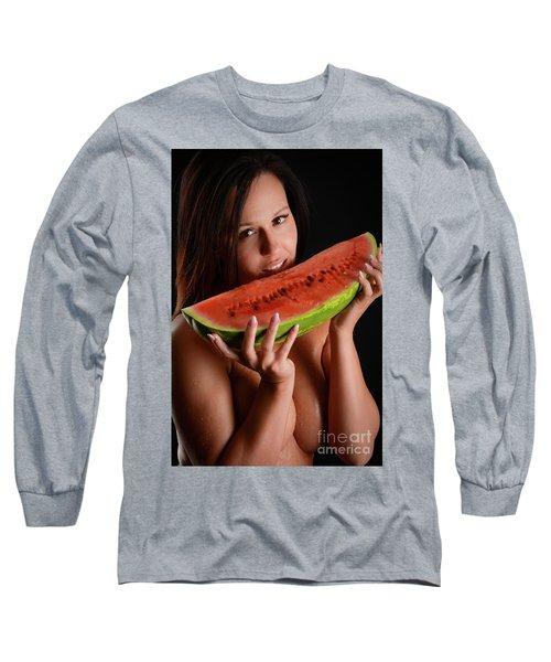 Watermellon Long Sleeve T-Shirt