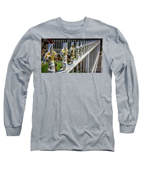 Long Sleeve T-Shirt featuring the photograph White Iron by Perry Webster