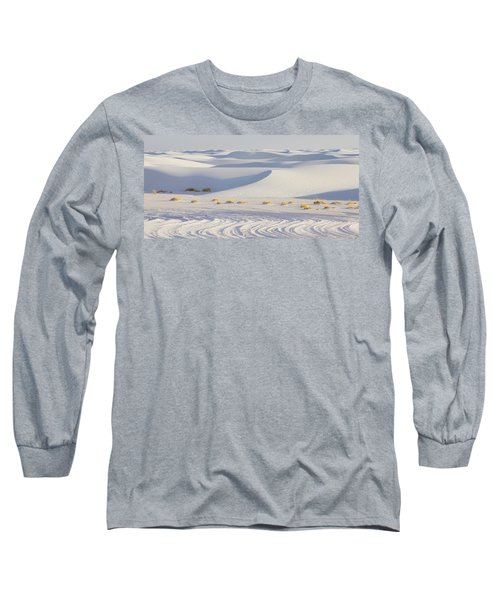 White Sands New Mexico Long Sleeve T-Shirt by Elvira Butler