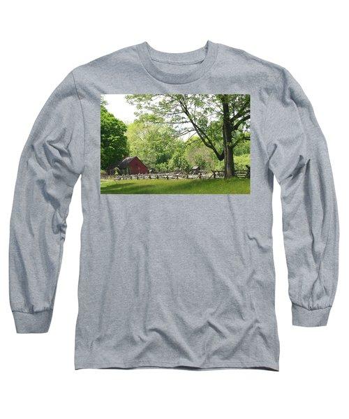 Wick Farm At Jockey Hollow Long Sleeve T-Shirt