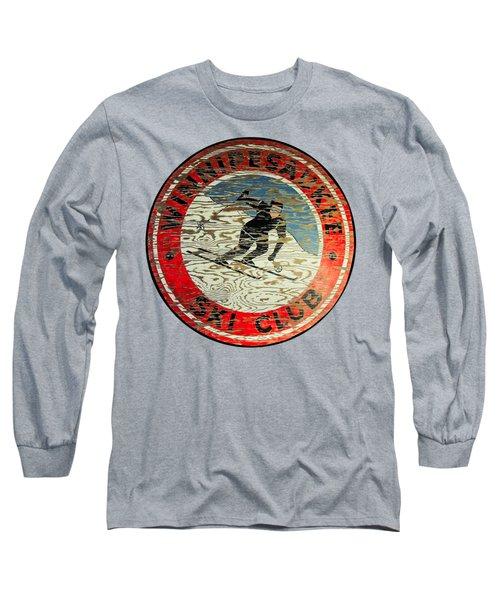Winnipesaukee Ski Club Long Sleeve T-Shirt by Mim White