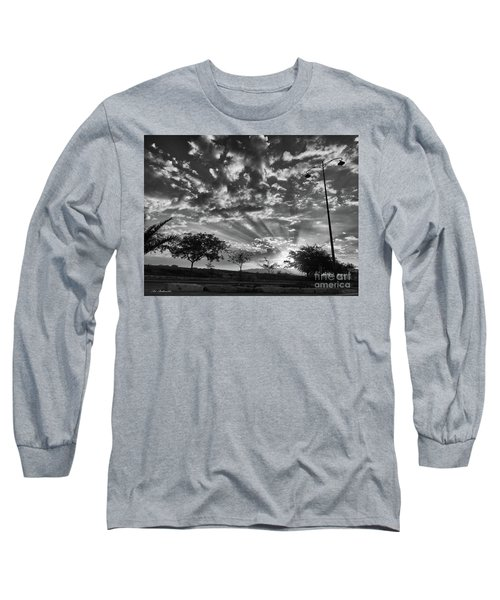 Winter Sunset Long Sleeve T-Shirt by Arik Baltinester