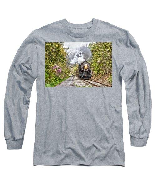 Wmsr Steam Engine 734  Long Sleeve T-Shirt