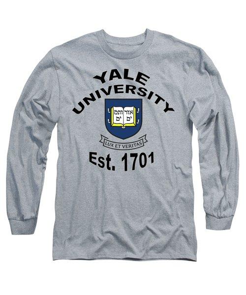 Yale University Est 1701 Long Sleeve T-Shirt