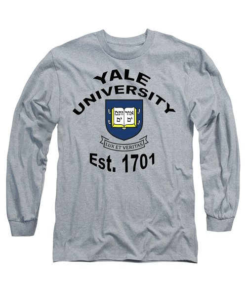 Yale University Est 1701 Long Sleeve T-Shirt