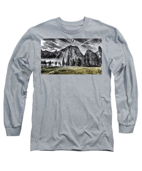 Long Sleeve T-Shirt featuring the photograph Yosemite Dawn by Chris Cousins
