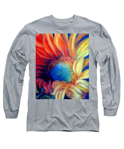 Your Passion Becomes My Passion Long Sleeve T-Shirt by Antonia Citrino