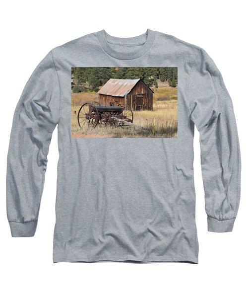 Seed Tiller - Barn Westcliffe Co Long Sleeve T-Shirt