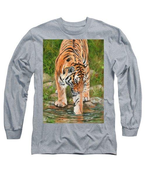 Amur Tiger Long Sleeve T-Shirt