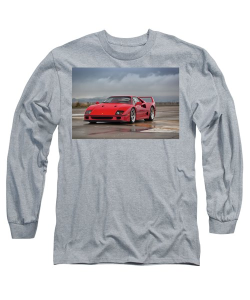 #ferrari #f40 #print Long Sleeve T-Shirt