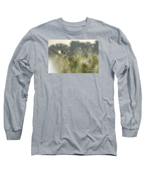 Long Sleeve T-Shirt featuring the photograph Meadow Flowers by Odon Czintos